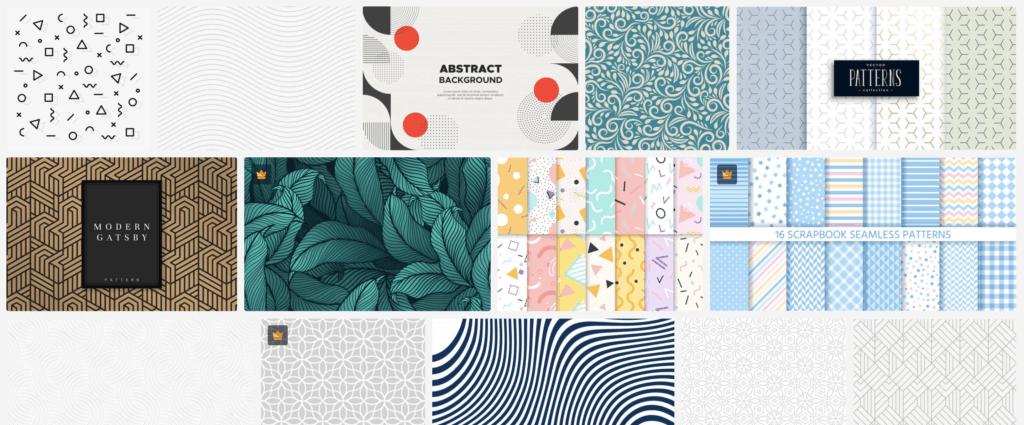 Freepik pattern free download