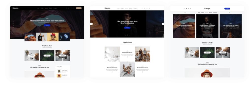 03 katelyn themes gutenberg - WordPress Gutenberg Themes