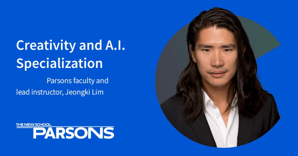Jeongki Lim Creativity and A.I. specialization social