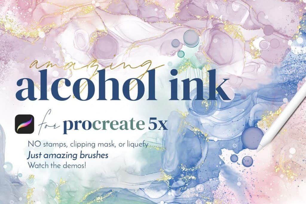 Amazing Alcohol Ink for Procreate