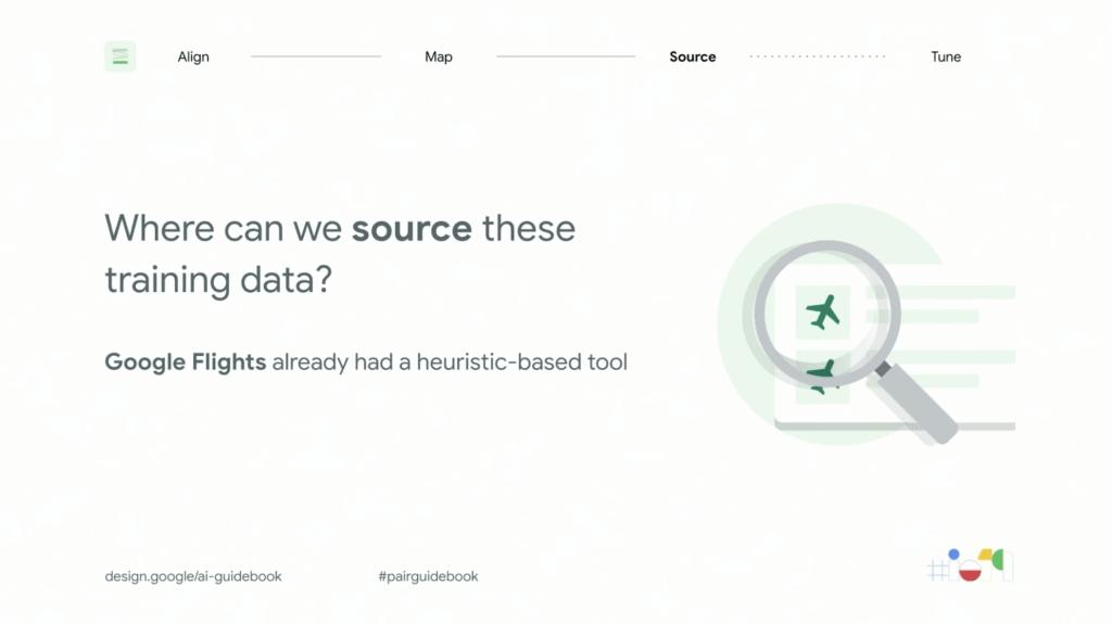 google flight data collection