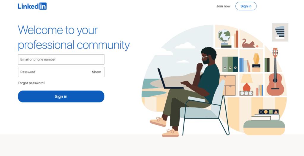 linkedin เว็บไซต์ที่คนทำงานบริษัทต้องมีบัญชี