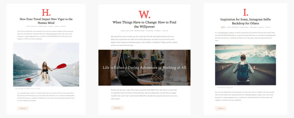 09 typograph - WordPress Gutenberg Themes