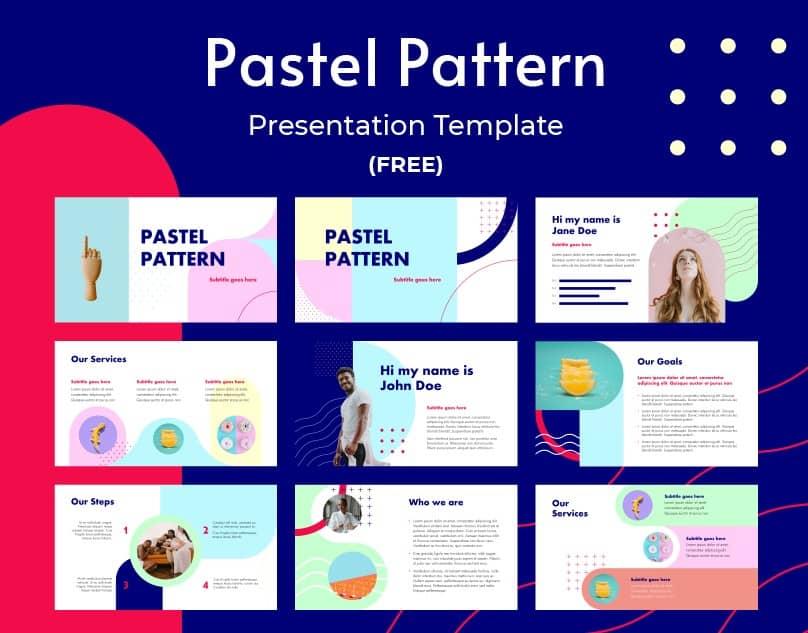 13 pastel pattern