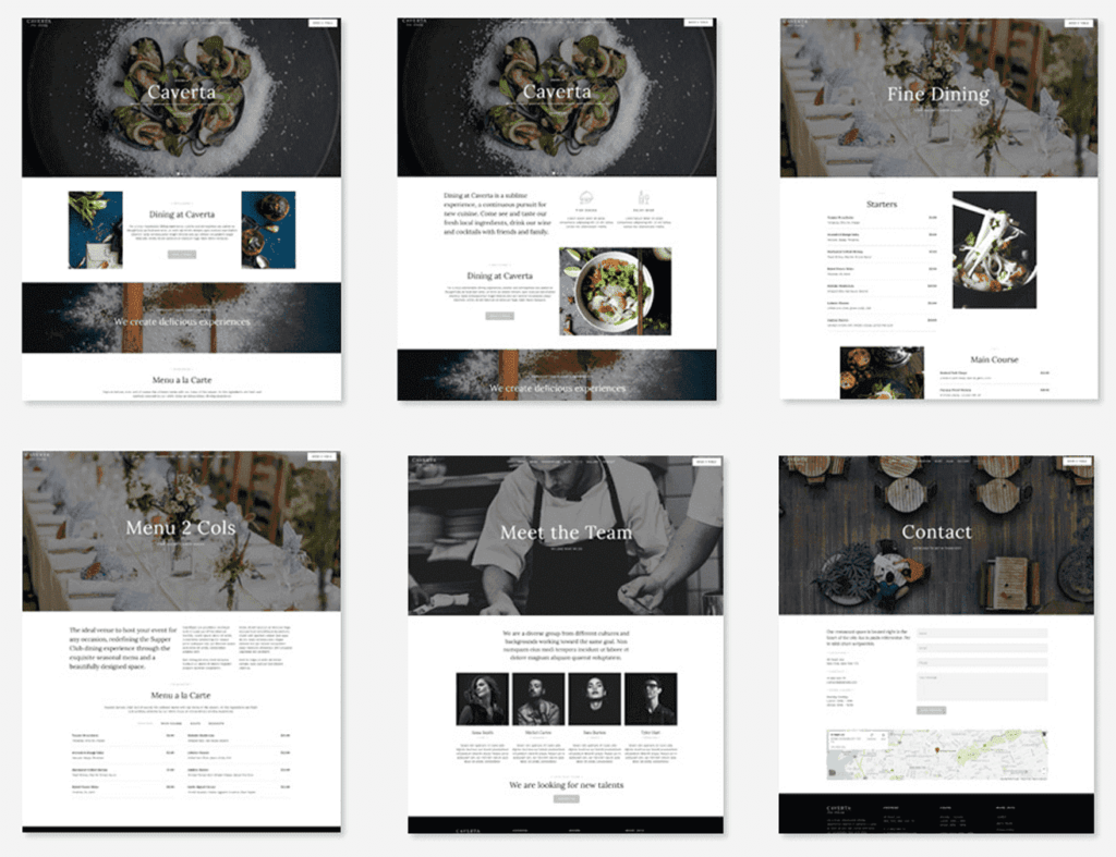 8 caverta - WordPress Gutenberg Themes
