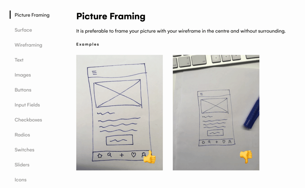 How to upload wireframe for UIZard