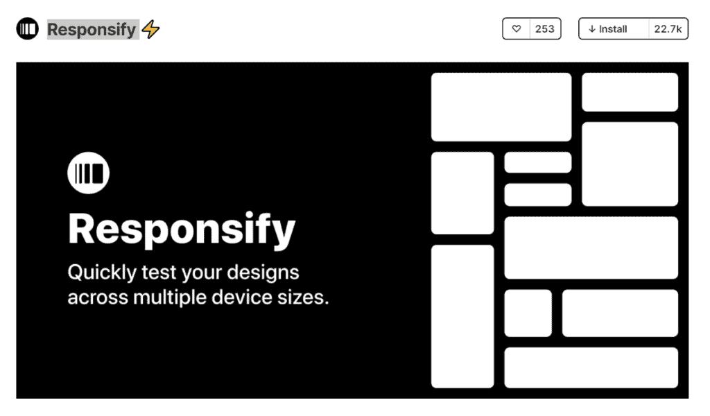 Responsify figma plugins responsive