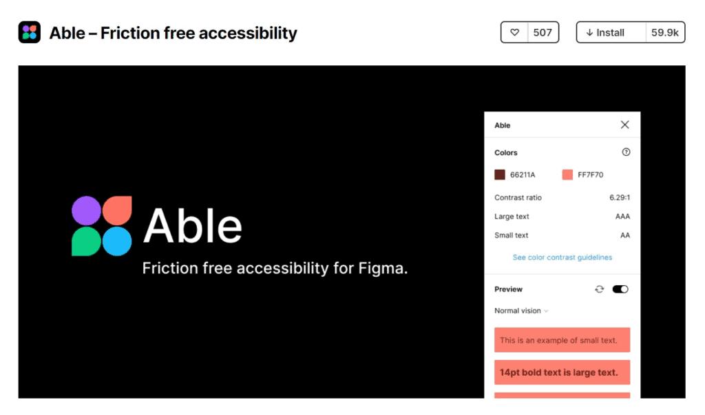 Able Accessibility Figma Plugins
