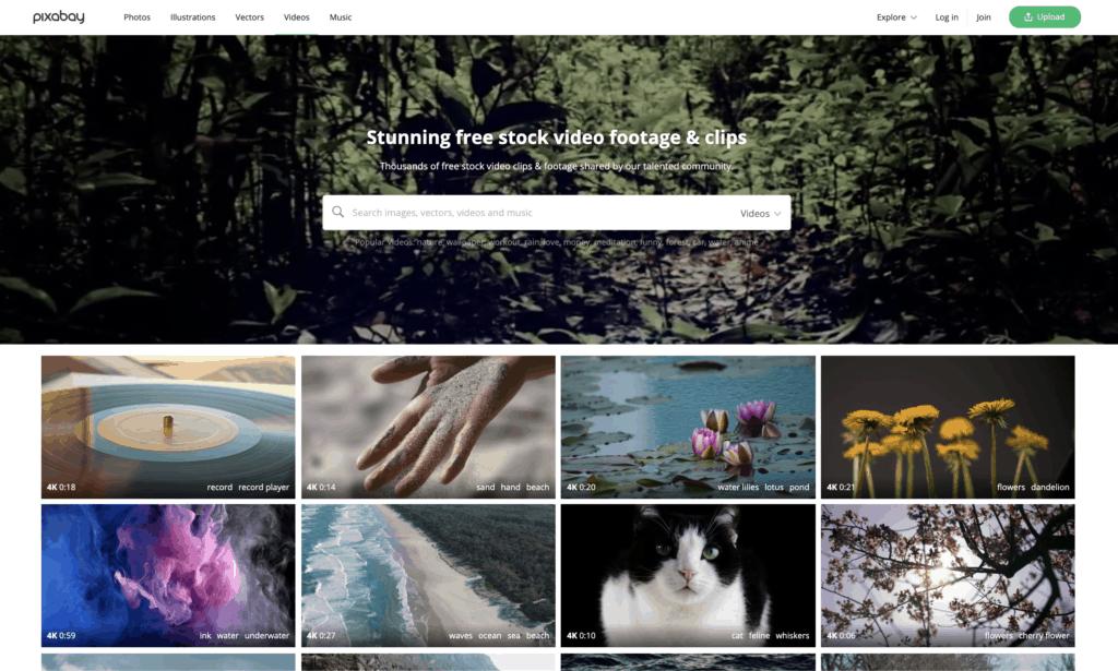 Pixabay video footage free