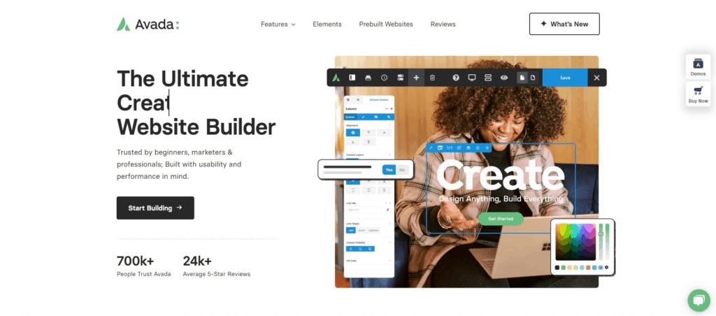 Avada web template - Themeforest wordpress theme