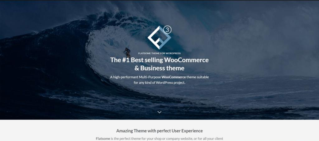 Flatsome web template -  Themeforest wordpress theme