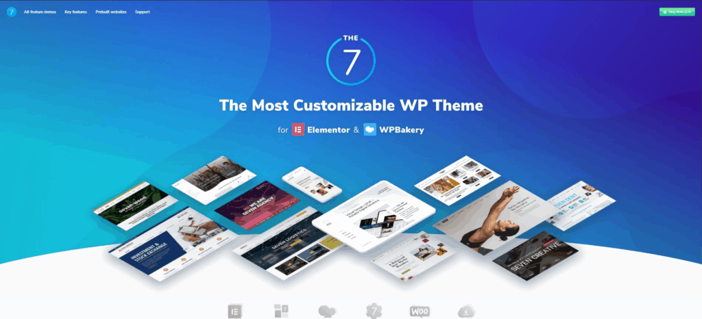The7 web template