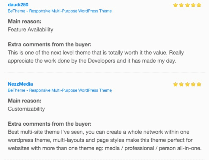Betheme Review web template