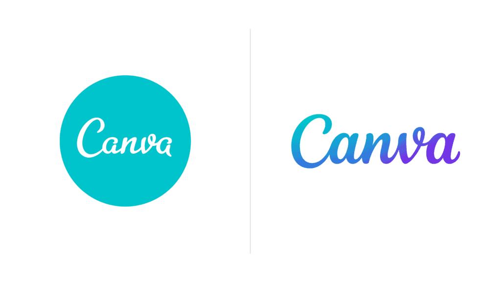 new canva logo