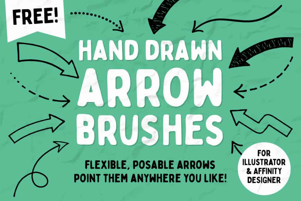 Free hand drawn Arrows P1