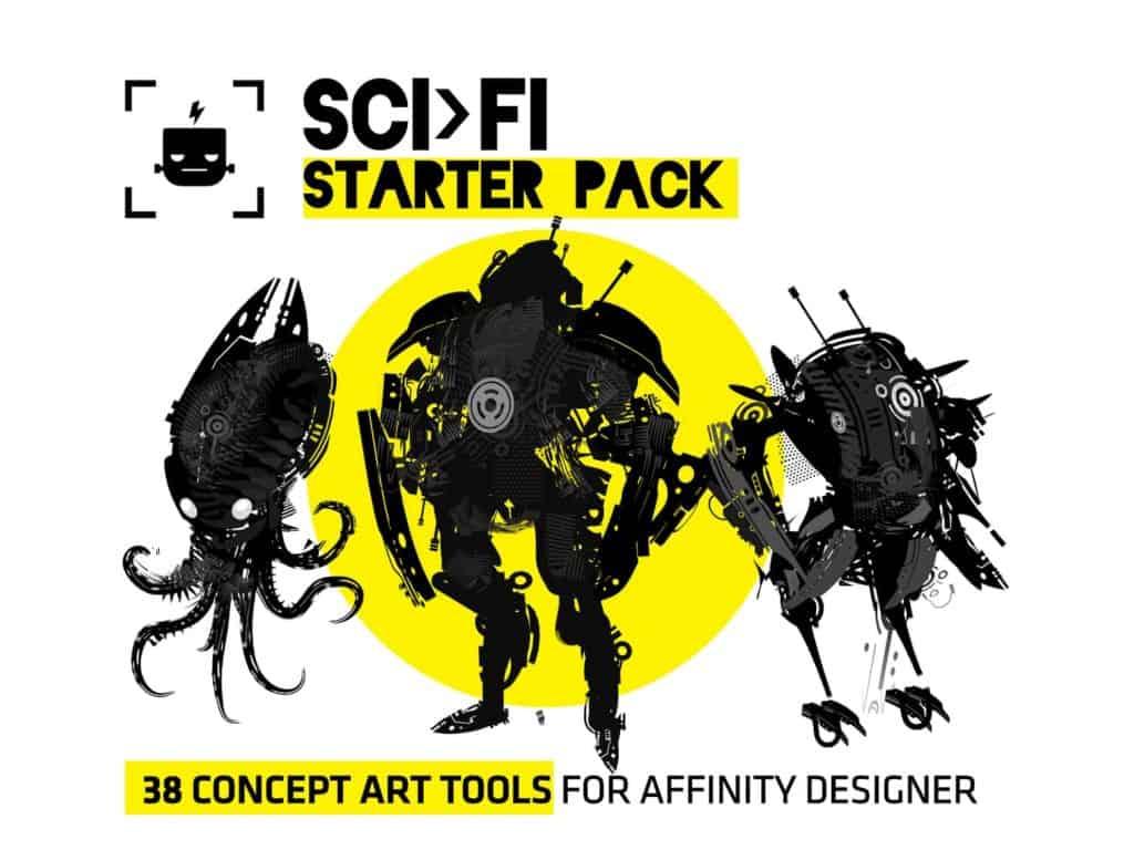 SCI FI Starter Pack for Affinity Designer