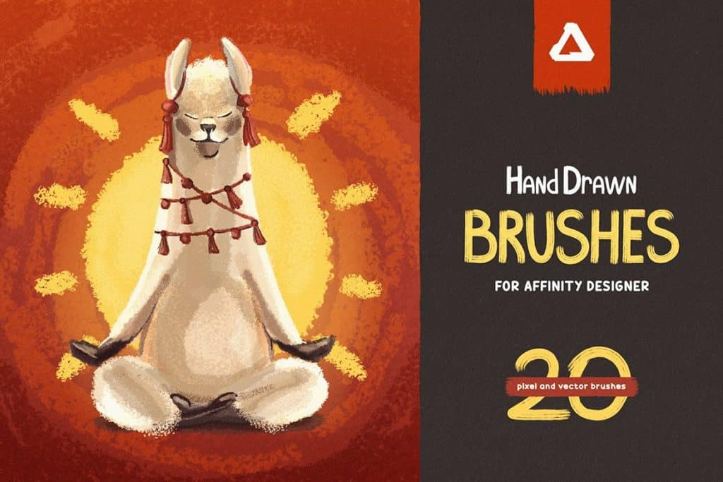 hand draw brushes